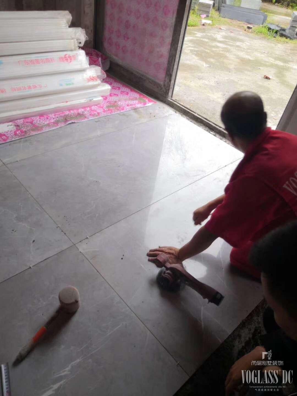 華僑城天瀾美墅別墅裝修再施工地現場