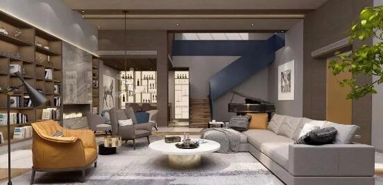 別墅地下室裝修效果圖設計方案