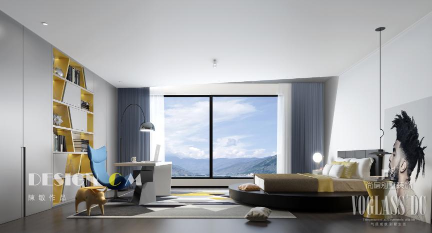 現代風格臥室別墅裝修效果圖